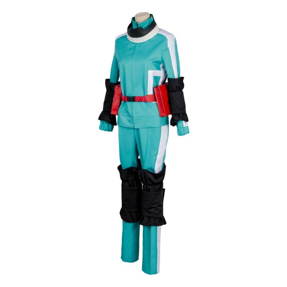 Boku no Hero Academia Izuku Midoriya Katsuki Bakugou Battle Cosplay Costume