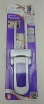 2 Pack White Child Safety Sliding U-Shape Cabinet Locks, Baby Proof Your... - $12.19