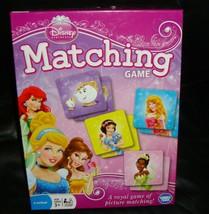 Disney Princess Matching  Game-Wonderforge-Complete - $15.60
