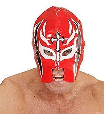 Widmann Red Pvc Wrestler Mask #jie