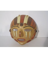 Stunning Ceramic Mask Face Primitive Folk Art Crying Woman LOVELY! Power... - $38.25