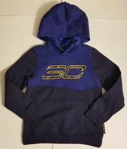 NWT Under Armour Boy's Long Sleeve Hooded Sweatshirt Hoodie Size Small - $29.99