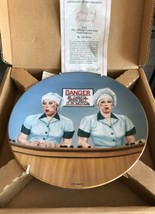 I Love Lucy New Collectors Plate: Eating The Evidence - $156.81