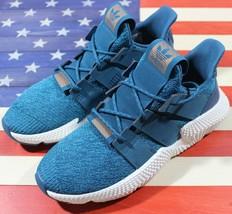 Adidas Originals PROPHERE Womens Running Shoe Teal-Blue/White Ortholite ... - £43.85 GBP