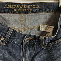 American Eagle Mens Sz 30/34 W30 L34 Jeans Original Boot Stretch Denim C3-14 image 9