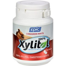 Epic Dental Mints - Cinnamon Xylitol Bottle - 180 ct - $12.31