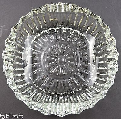 Vintage Pasari Indonesia Clear Glass Ashtray and similar items