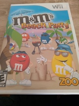 Nintendo Wii M&M's Beach Party ~ COMPLETE image 1