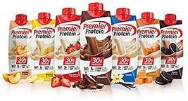 Premier Protein High Protein Shakes Variety Pack Chocolate, Vanilla, Strawberry