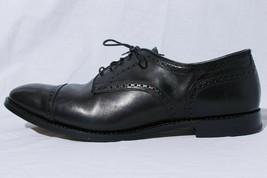 Allen Edmonds The City Men's Black Leather Cap Toe Oxford Derby Dress Sh... - $59.36