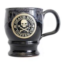 2018 Edition Collectible Death Wish Coffee Ceramic Mug - Black With Grey... - $39.05