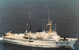 NOAA Oceanographic Ship Researcher R-103 postcard - $5.89