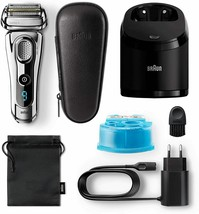 Braun 9297 series 9 electric shaver wet/dry trimmer precision chrome - $605.50