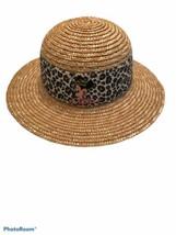 "Disney Animal Kingdom Straw Hat Minnie Mouse Safari Circumference 21"" - $16.10"