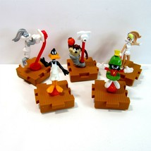 Lot of 5 McDonald's Warner Brothers Looney Tunes Space Jam Train Toys - ... - $9.99