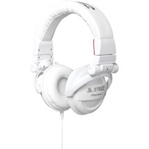 Pioneer - SE-D10MT-W - Steez Dubstep Headphones with Microphone - White - $59.35