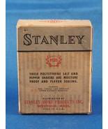 Vintage STANLEY Maison Produits Atomique Balle Point Salt & Pepper Shaker Boîte - $11.86