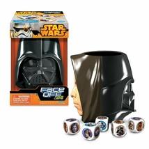 Star Wars Face Off Dice Game Darth Vader vs Luke Skywalker New - $11.78