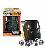 Star Wars Face Off Dice Game Darth Vader vs Luke Skywalker New - $8.99