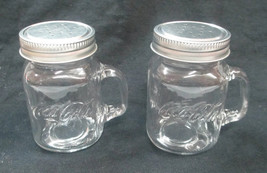Coca-Cola Mason Jar Style Salt and Pepper Spice Shaker Set  - BRAND NEW - $7.13