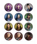 Disney Descendants 2 Edible Cupcake Images - Cupcake Toppers - $8.98+