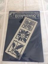 LL 469 Dreamweaver Stencils  Holly & Berries Poinsettia and Pine Cone Ne... - $9.49