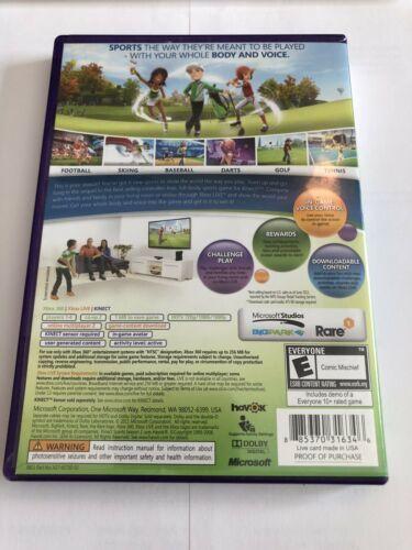 Kinect Sports: Season Two (Microsoft Xbox 360, 2011)