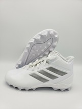 Adidas Freak Mid MD J Football Cleats/Shoes Kids White Silver EG5079 Size 12K - $19.79
