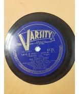 The Varsity Seven–Scratch My Back / Save It Pretty Mama 1939 Jazz V+/V... - $59.40