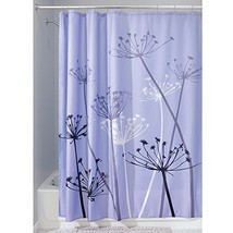 InterDesign Thistle Shower Curtain, Standard - Purple and Gray - $22.97