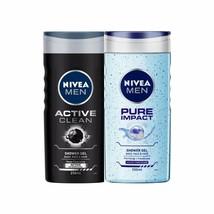 Nivea Uomo Doccia Gel Pettine (Attivo Pulire + Puro Impact) - 250ml (Confezione - $33.06