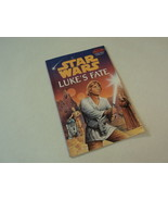 Random House Star Wars Lukes Fate Jim Thomas Book Softcover - $5.00