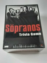 The Sopranos Trivia Game HBO Mafia In Packaging Sealed New Old Stock Family Fun - $25.00