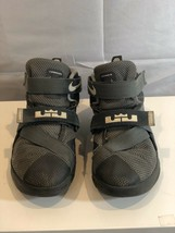Nike Lebron James Soldier IX Shoes 776473-003 Basketball Gray Size 2Y - $17.09