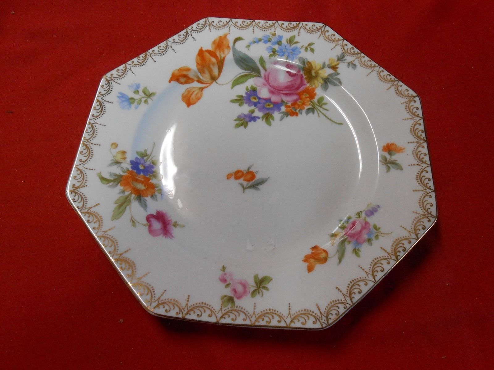"Primary image for Beautiful Vintage ROSENTHAL The Bailyey Banks & Biddle Co. PLATE..8.5"" x 8.5"""