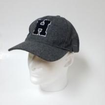 NWT Mens Tommy Hilfiger H Logo Baseball Cap Hat Gray Adjustable Strapback  - $28.70