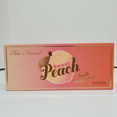 Primary image for Authentic Too Faced Sweet Peach 18  Eye Shadow Palette Smells Like Peaches NEW