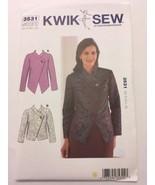 Kwik Sew Sewing Pattern 3531 Misses  Elegant Jackets Blazers Career XS-X... - $11.99