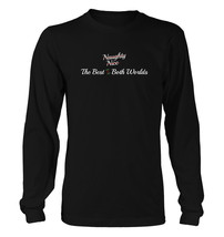 Best of Both Worlds #192 - Men's Long Sleeve T-Shirt - Funny Christmas Gift - $19.19