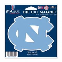 "Ncaa Nib 4 Inch Auto MAGNET-UNC North Carolina Tar Heel ""Nc"" Logo White Outline - $10.75"