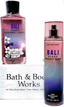 Bath & Body Works Bali Black Coconut Sands Body Wash & Body Mist Set of 2 - $22.28