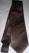 Kenneth Cole Nice Brown Blended Men Neck Tie - $30.00
