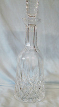 "Waterford Lismore Wine Decanter Cut Stopper 13 1/4"" - $108.79"