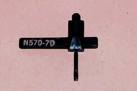 RECORD PLAYER TURNTABLE NEEDLE N570-7d for RCA 118200 RMP 204-5 204-6 649-D7 image 1