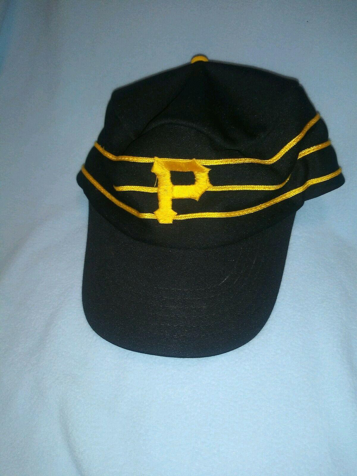 Vintage Pittsburgh Pirates Throwback Snapback Hat  ⚾ Mlb