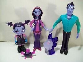 Disney Junior Vampirina Figures Boris Oxana Hauntley Wolfie Boombox Just Play - $19.55
