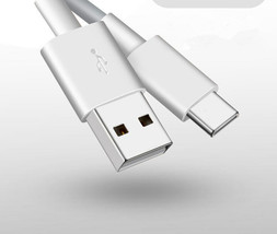 3FT White USB Sync Charge Fast Charger Type C Cord Cable for Zte Zmax Pr... - $3.95