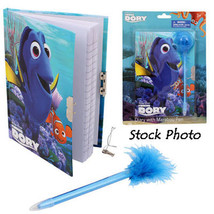 Disney Pixar ~ Finding Dory ~ Diary with Marabou Pen ~ NEW - $14.50