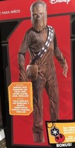 Star Wars Chewbacca Deluxe Child Costume M (5-7) Rubies 620143 Halloween... - $26.18