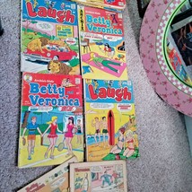 Lot Of 6 Archie Betty And Veronica Swim Sports Laugh 1970 S Comics Books Rare S - $28.72